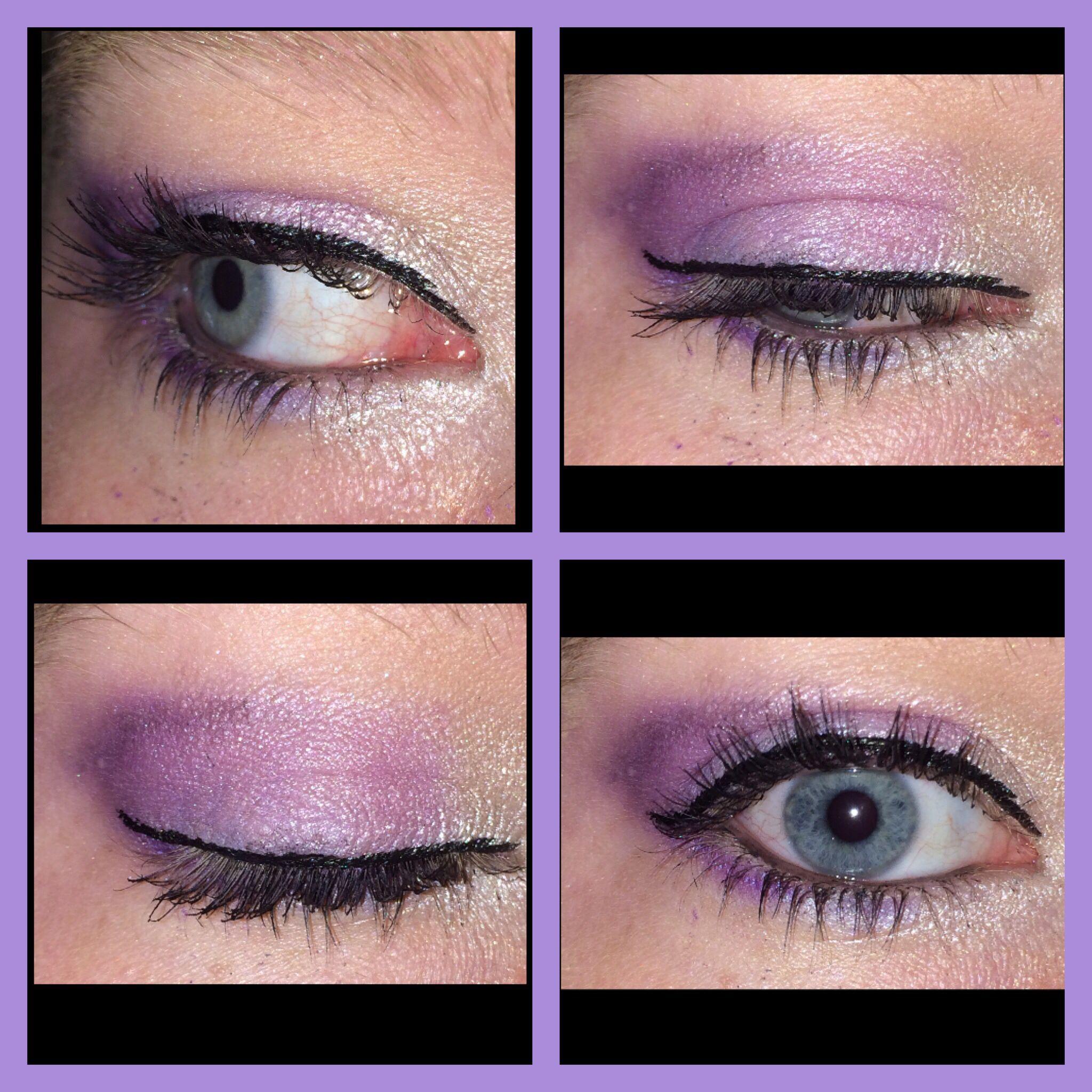 Purple eyeshadow gradient chichicosmetics sultry palette
