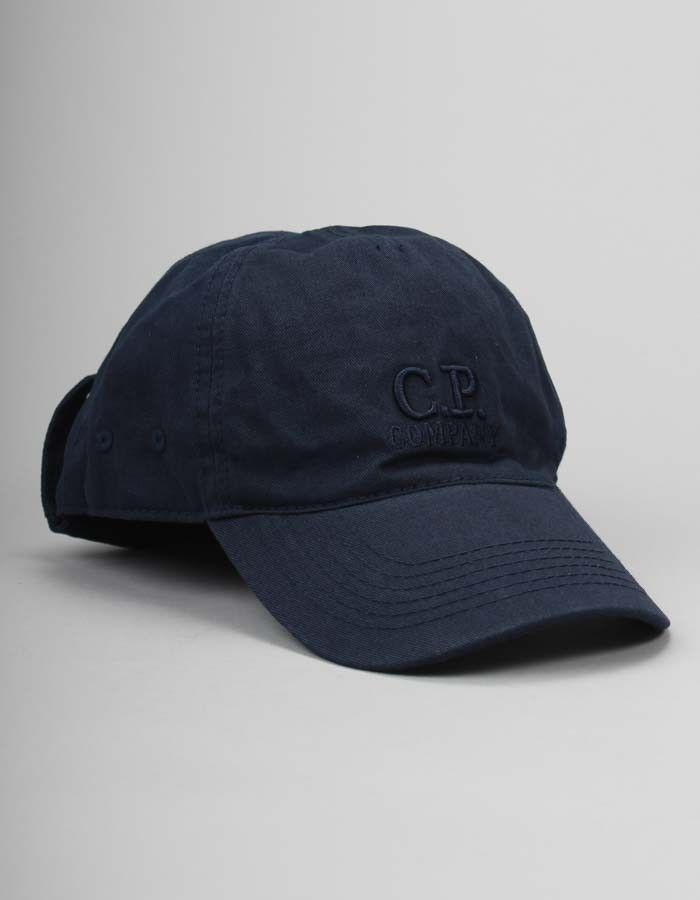 860f716e9fe C.P. Company Navy Goggle Cap