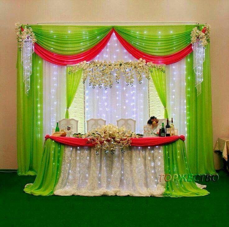 Decorar una fiesta con cortinas de distintos tipos de tela - Decoracion de cortinas ...