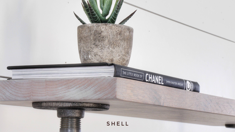 Industrial clothing rack shelf u garment rack u retail display