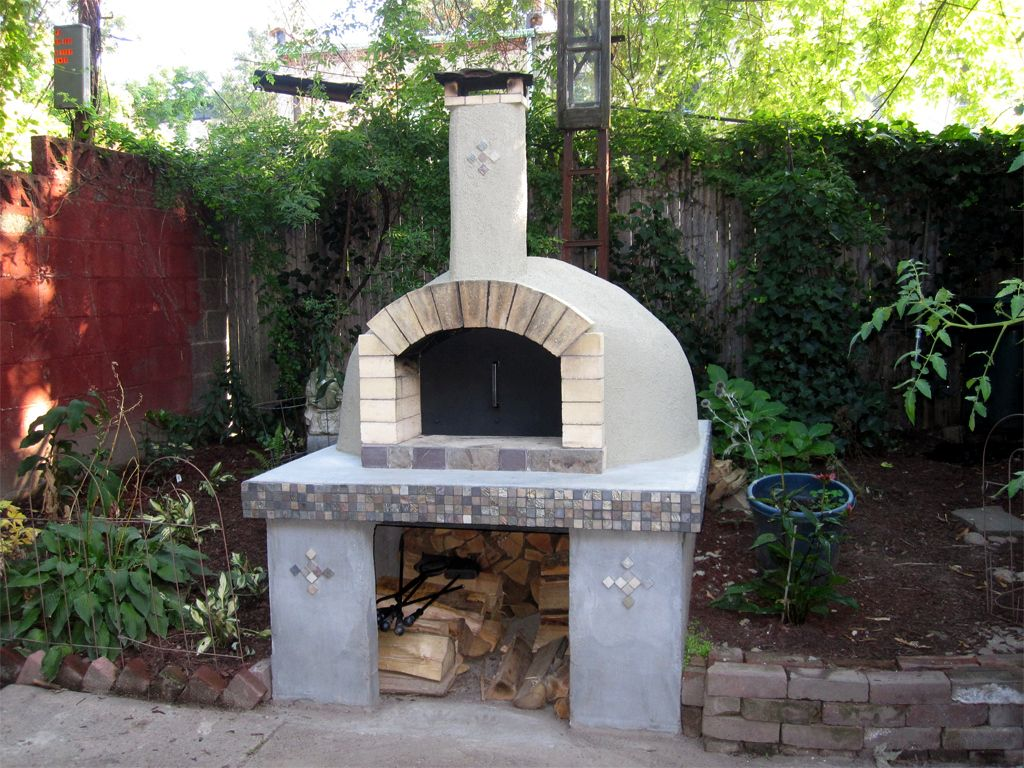 how to build a woodfired pizza oven in your backyard