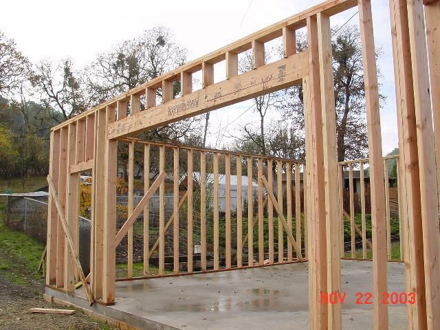 wall framing and platform in 2019 building a garage on wall frames id=83877