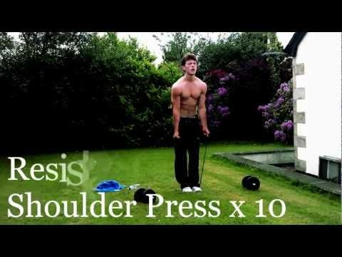 Outdoor Full Body Circuit - YouTube