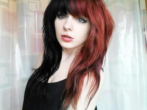front bangs with wavy hair super
