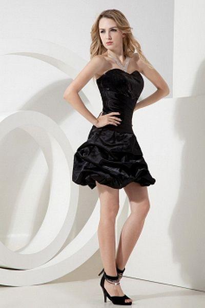 Schwarzen Ballkleid Liebsten Partei Kleid kv0956 - Silhouette ...