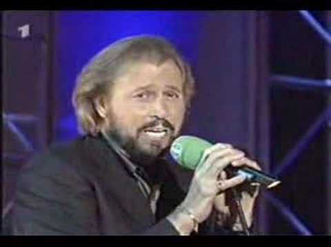 Bee Gees Alone Still Waters Live With Images Bee Gees