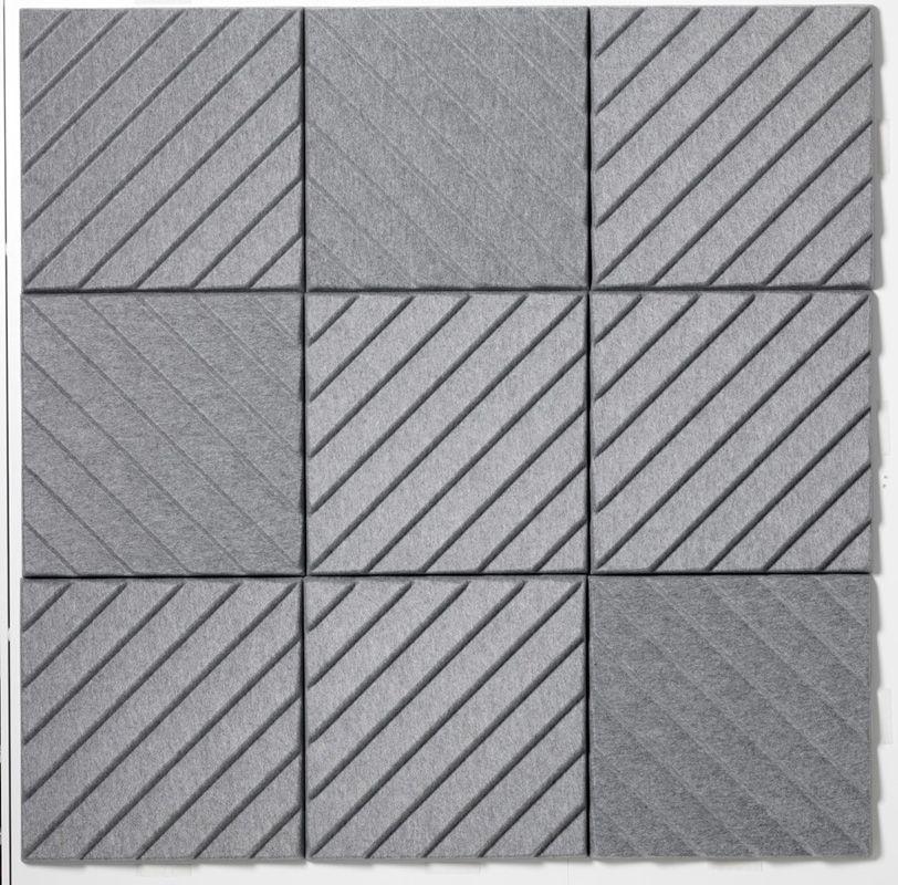 Decorative Acoustic Tiles Prepossessing Polyester Fibre Decorative Acoustical Panels Stripes Soundwave Inspiration