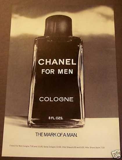 b711e280d0002 Chanel for Men Cologne (1975)
