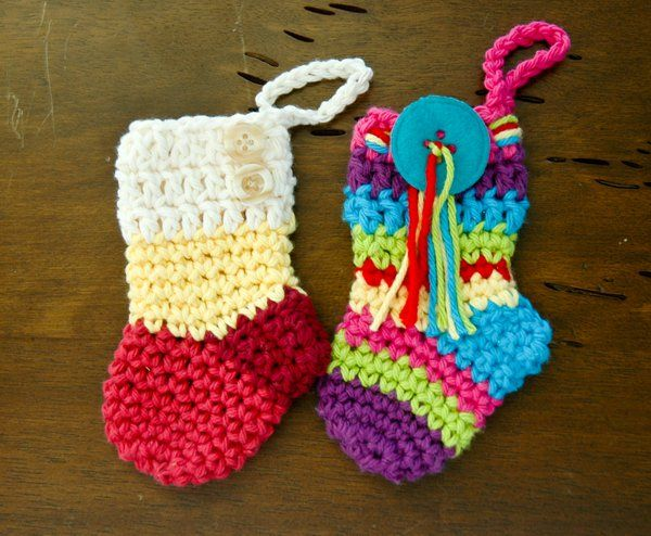 Christmas Stocking Crochet Pattern Easy Crochet Christmas Stocking