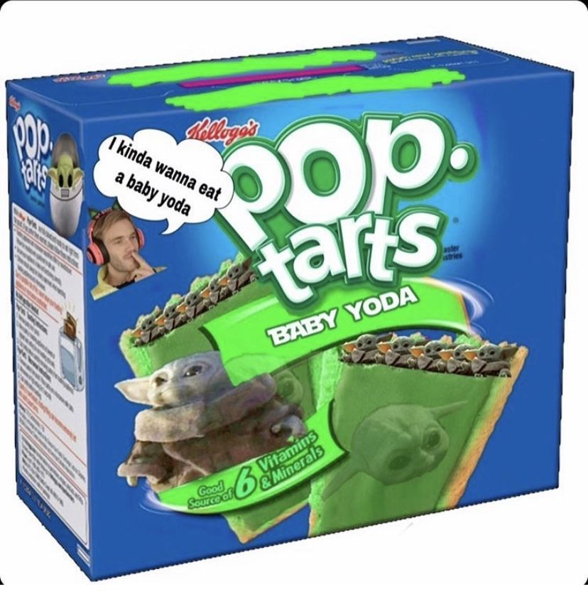 Baby Yoda Pop Tarts In 2020 (With Images)