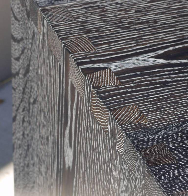 Black Cerused Oak Diy Wood Interior Walls Oak Table