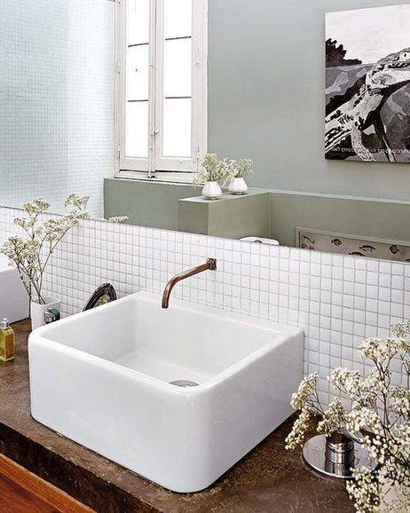 Baños bien vestidos | gresite