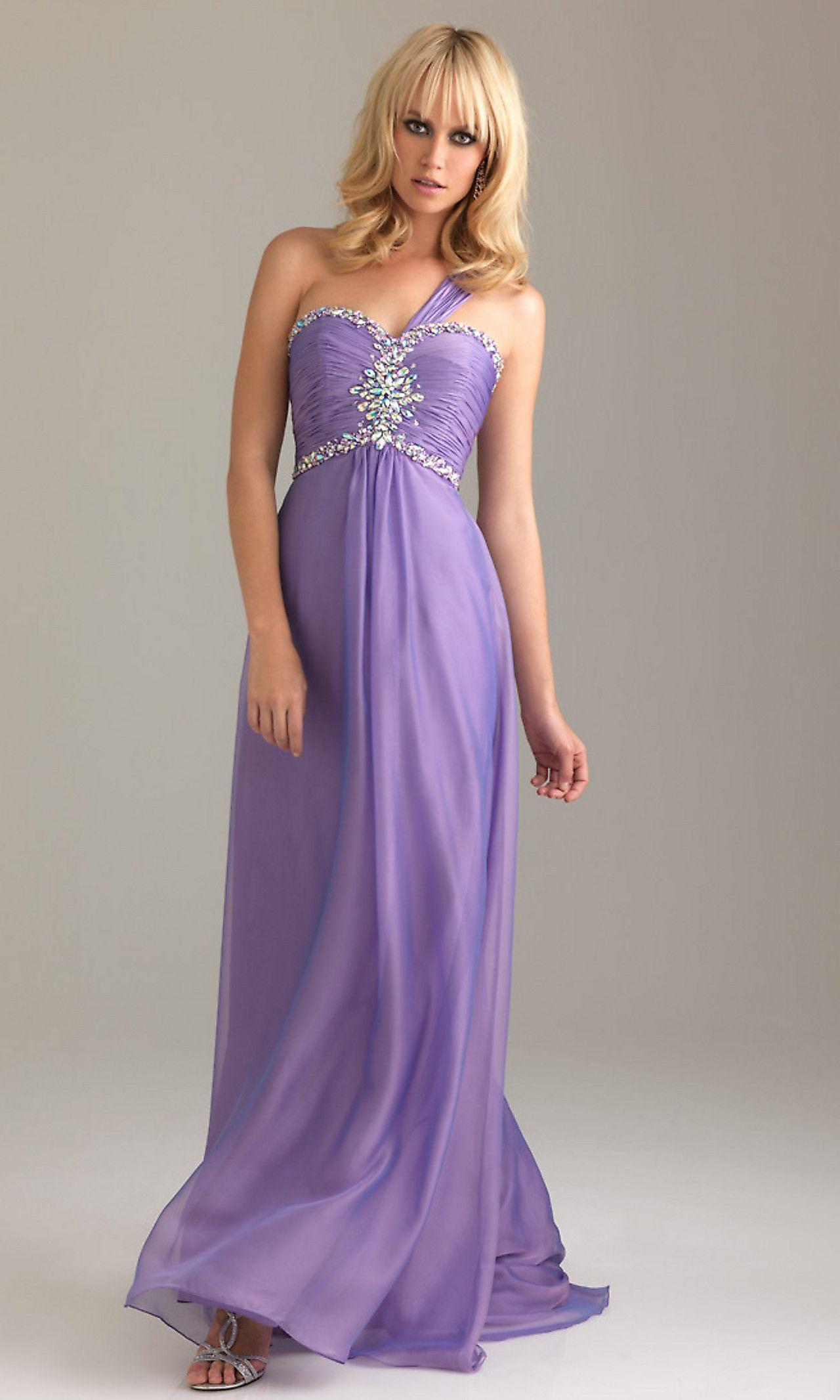 Elegant Long One Shoulder Night Moves Dress 6415 NM-6415 again, minus the strap.