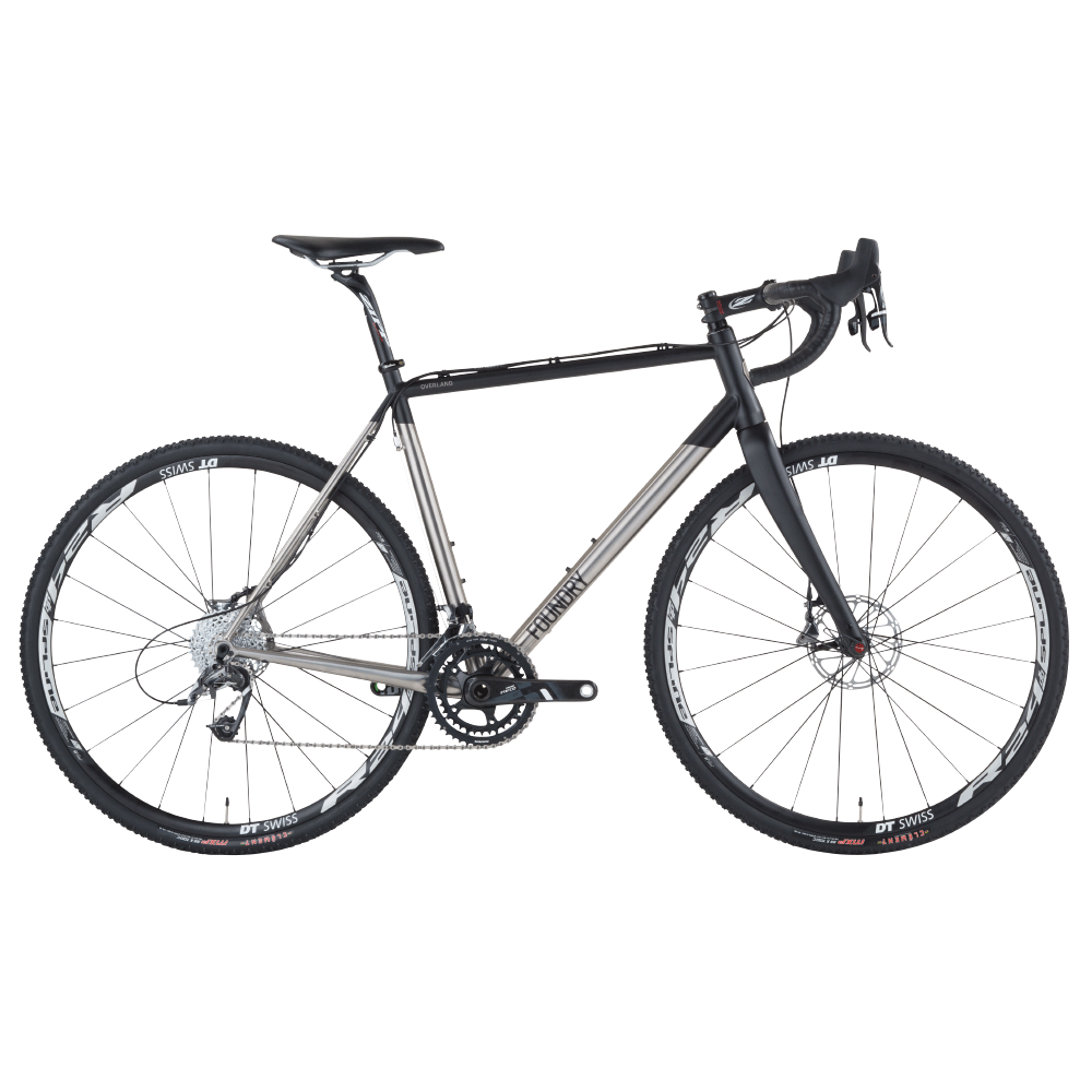 Foundry Overland Titanium Cyclocross Adventure Bike Disc And