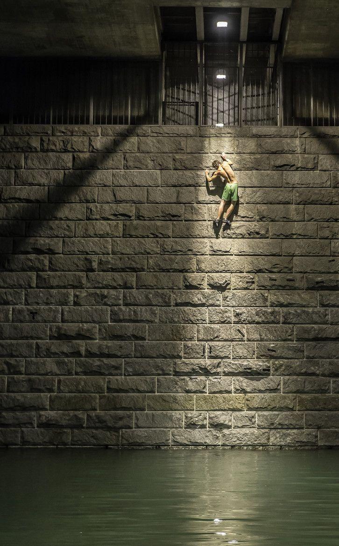 Photograph Urban Climbing by Sebastian Wahlhuetter on