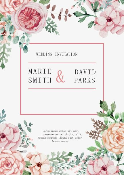 Vector Wedding Invitation Hd Vector Pink Png Transparent Clipart Image And Psd File For Free Download Wedding Invitations Cheap Wedding Koozies Top Wedding Registry Items