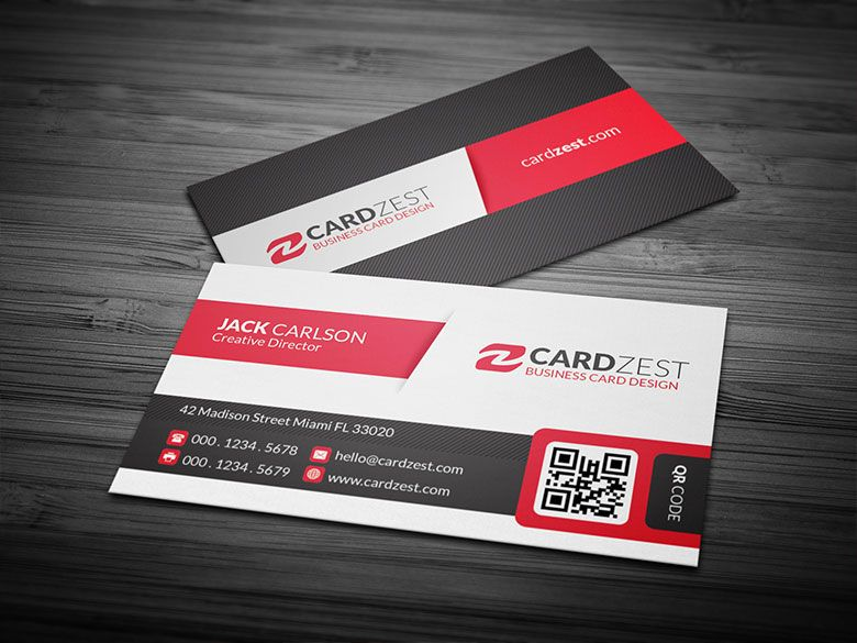 Download httpcardzestbold modern qr code business card yet another amazing design with a bold and modern appearance this template has a dedicated qr code section where one can include more secondary information colourmoves