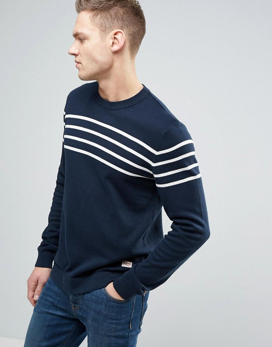 7e46881fb1c4 Get this Jack   Jones s knit pullover now! Click for more details.  Worldwide shipping