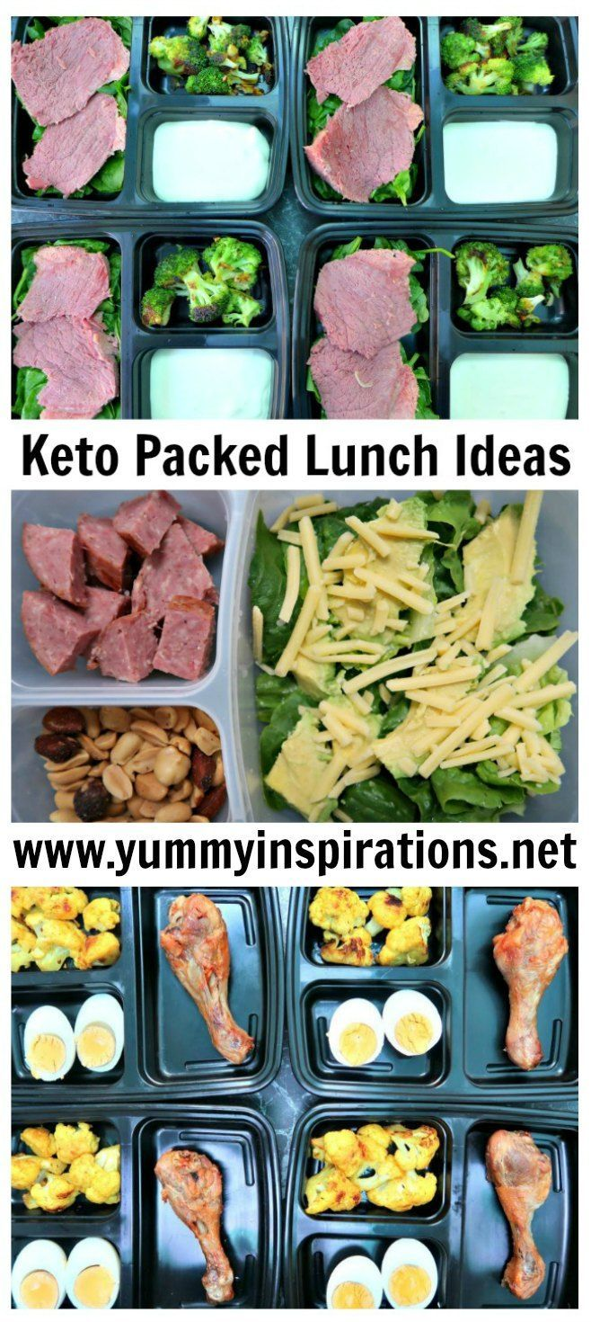 Keto Packed Lunch Ideas - low carb, ketogenic diet lunches & recipes images