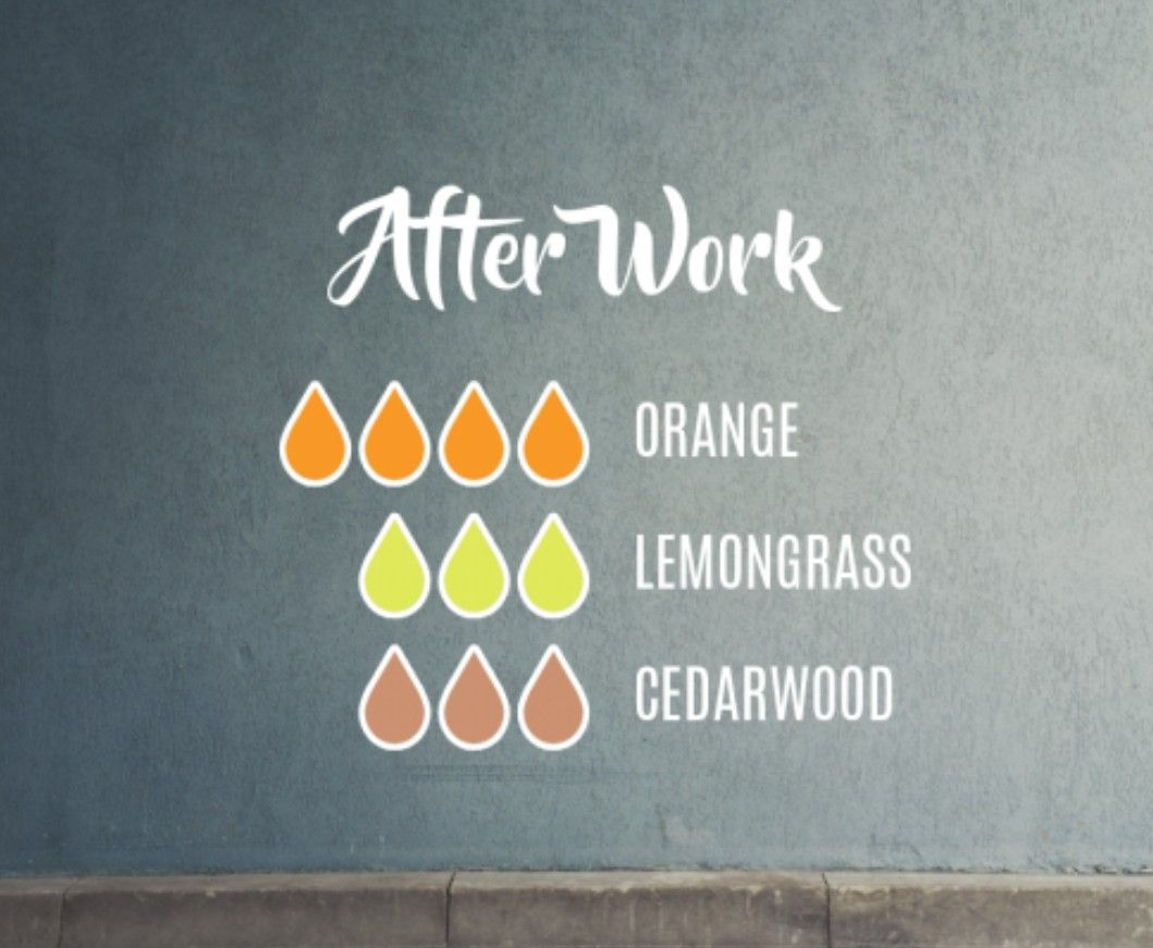 After work diffuser blend. | Essential oil mixes