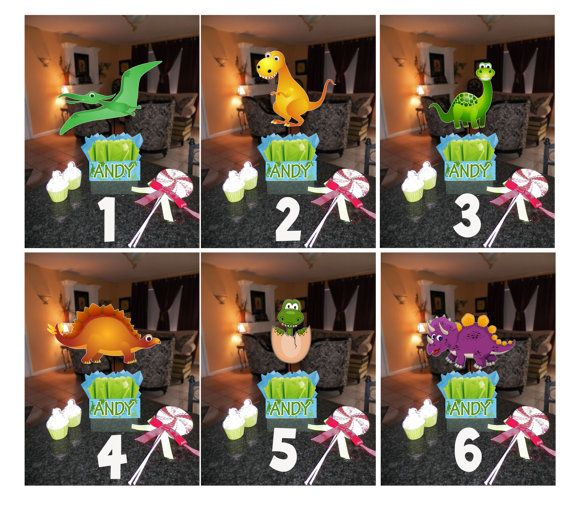 Dinosaur birthday party centerpieces theme diy quot small