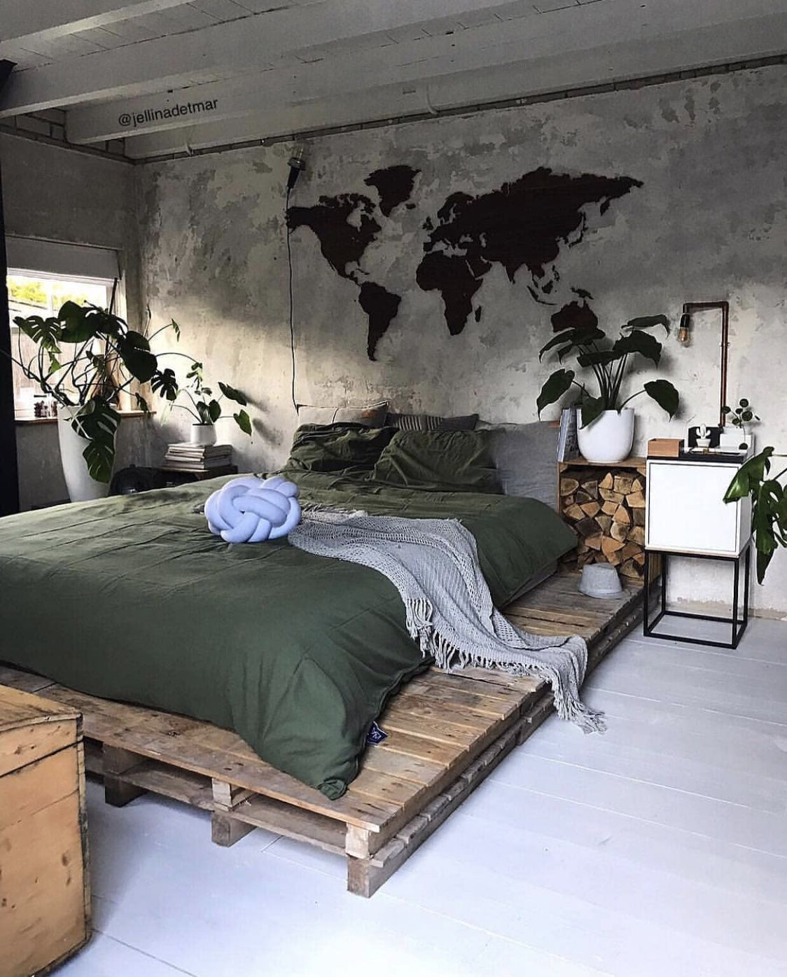 pinluiza de muros on quarto  urban bedroom urban