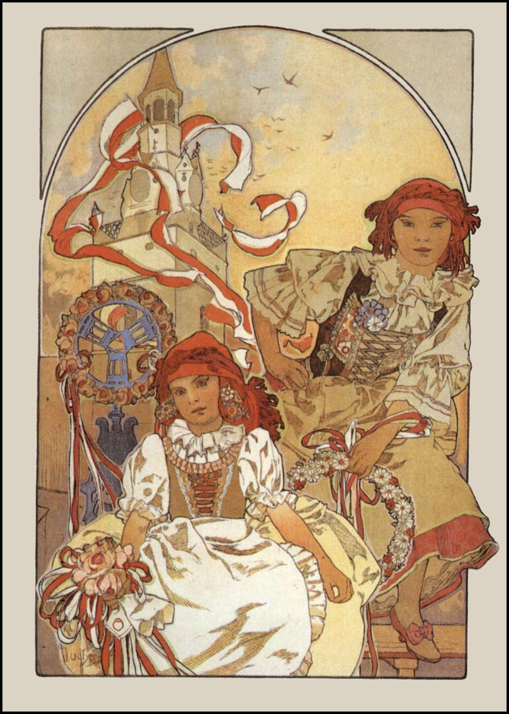 All The Czechs Love Mucha Alphonse Mucha Art Alphonse Mucha