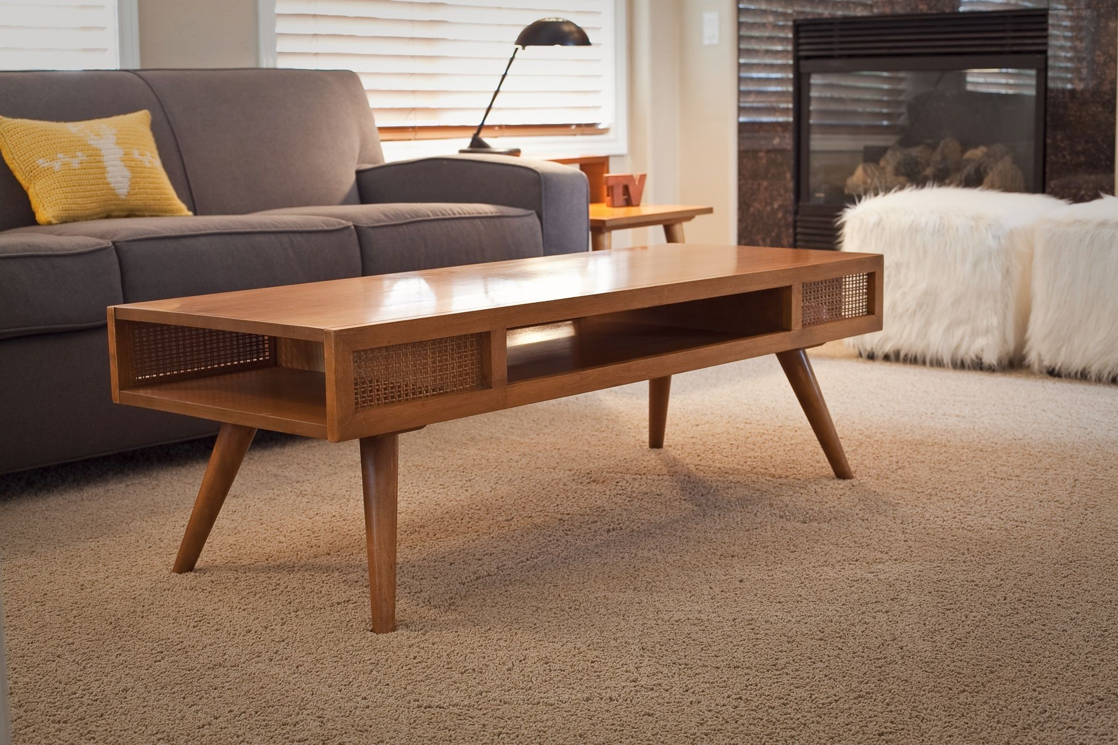 Russel Wright For Conant Ball Coffee Table.