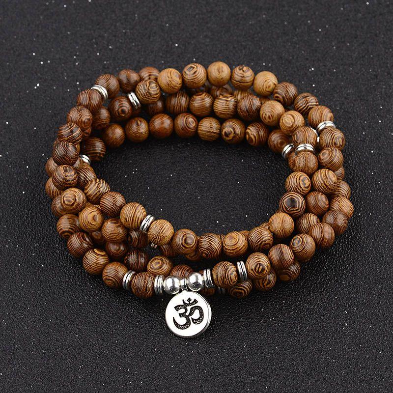 Bracelet Mala bouddhiste tibétain