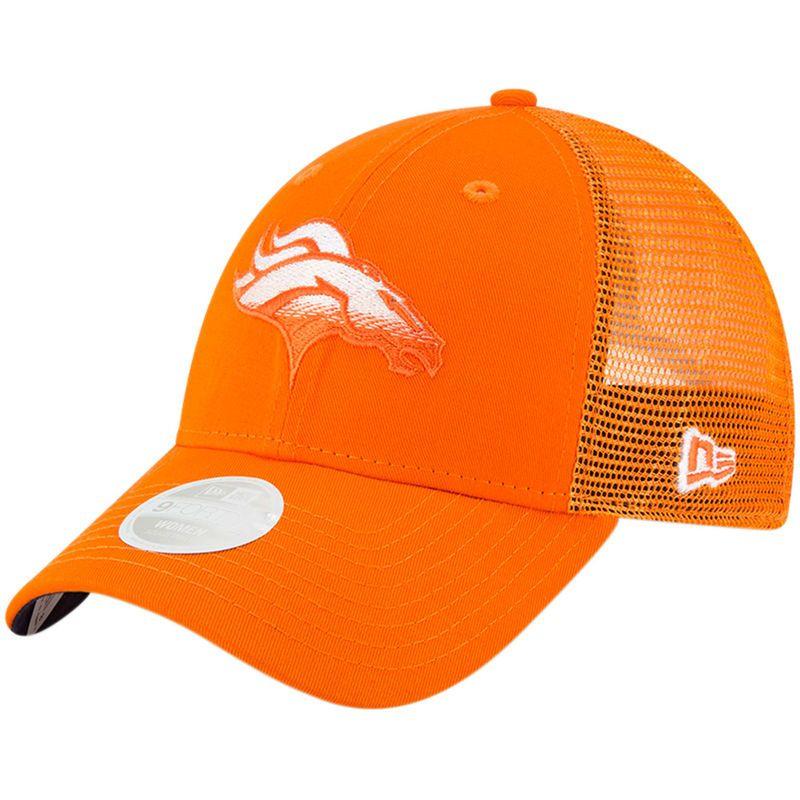 finest selection eee44 afc65 Denver Broncos New Era Women s Faded Front 9FORTY Adjustable Hat – Orange