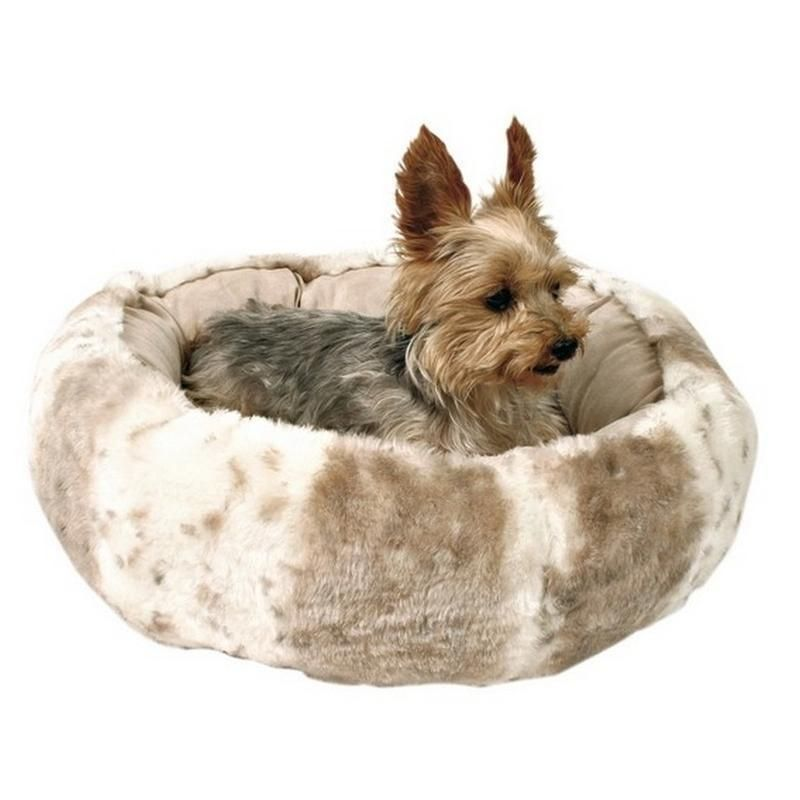 Fantastic Trixie Leika Cuddly Dog Bed Beige White 50 Cm Products In Creativecarmelina Interior Chair Design Creativecarmelinacom
