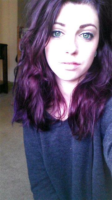 Superb Loving My Purple So Much Pravana Violet Mixed With Conditioner Short Hairstyles Gunalazisus