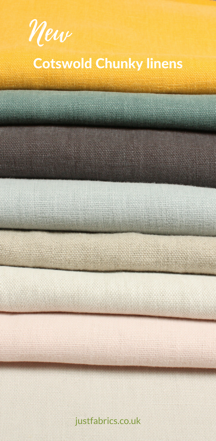 Cotswold Chunky Linen Is Beautiful Thicker Weight Fabic To Our Original Fabric This Washable Has An Impressive General