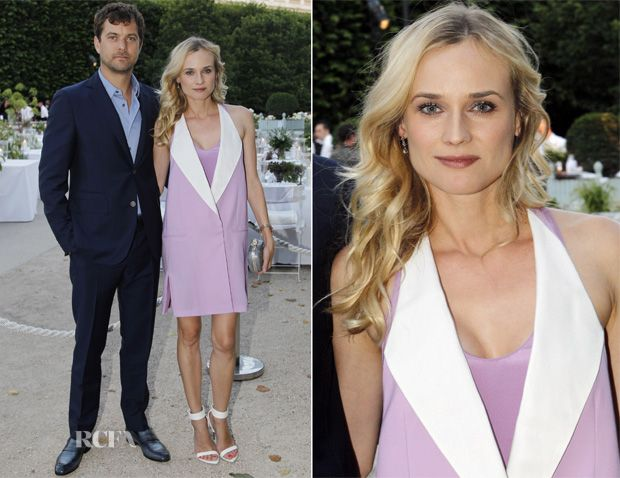 Diane Kruger In 3.1 Phillip Lim - Berluti Private Dinner