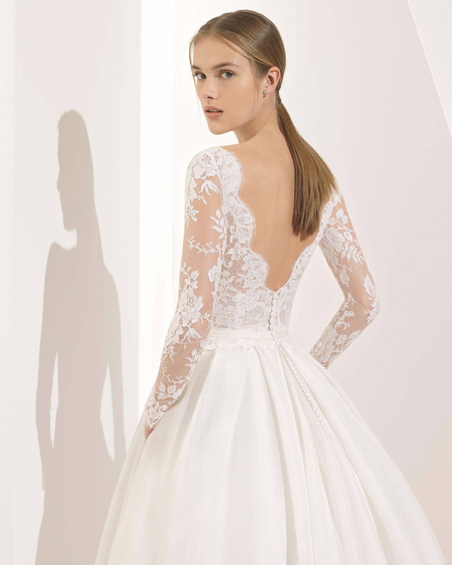 PARODIA - Hochzeit 2018. Kollektion Rosa Clará Couture | Bateau ...