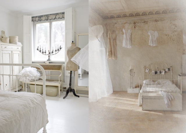 20 inspirations pour une chambre Shabby Chic | Chambre shabby chic ...
