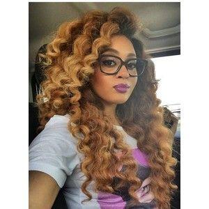 how to curl the afro twist braids marley hair crochet braids