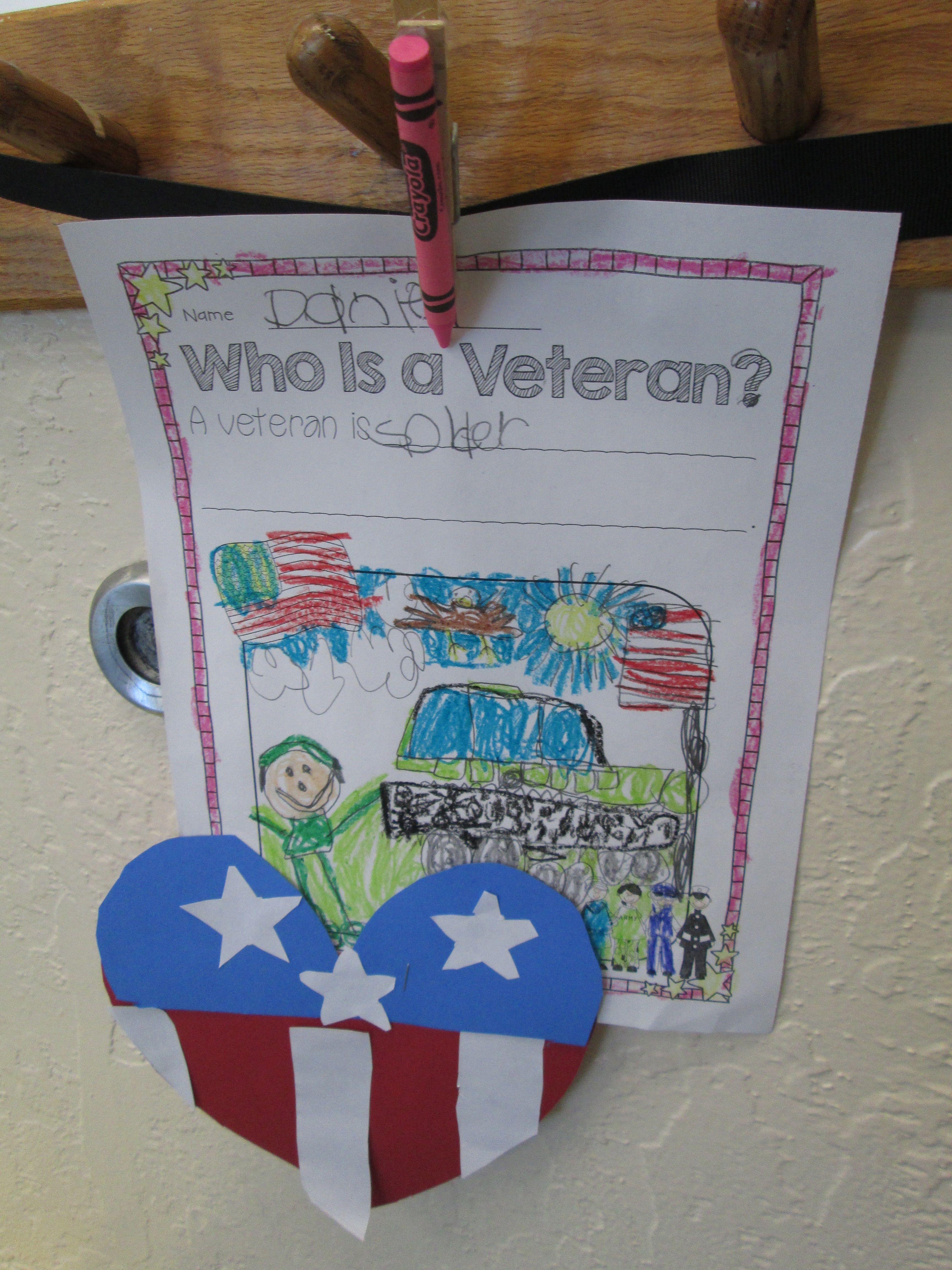 Our Heroes Honoring Veterans Craftivities Readers