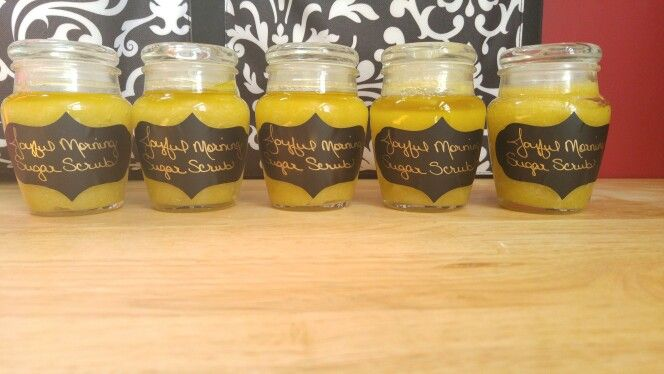Joyful Morning Sugar Scrub $10 each