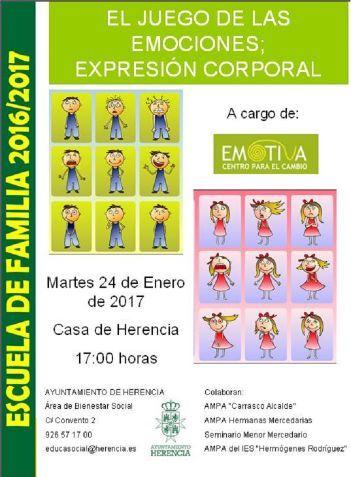 La Escuela de Familia de Herencia aborda el tema del juego de las emociones - https://herencia.net/2017-01-23-la-escuela-de-familia-de-herencia-aborda-el-tema-del-juego-de-las-emociones/?utm_source=PN&utm_medium=herencianet+pinterest&utm_campaign=SNAP%2BLa+Escuela+de+Familia+de+Herencia+aborda+el+tema+del+juego+de+las+emociones