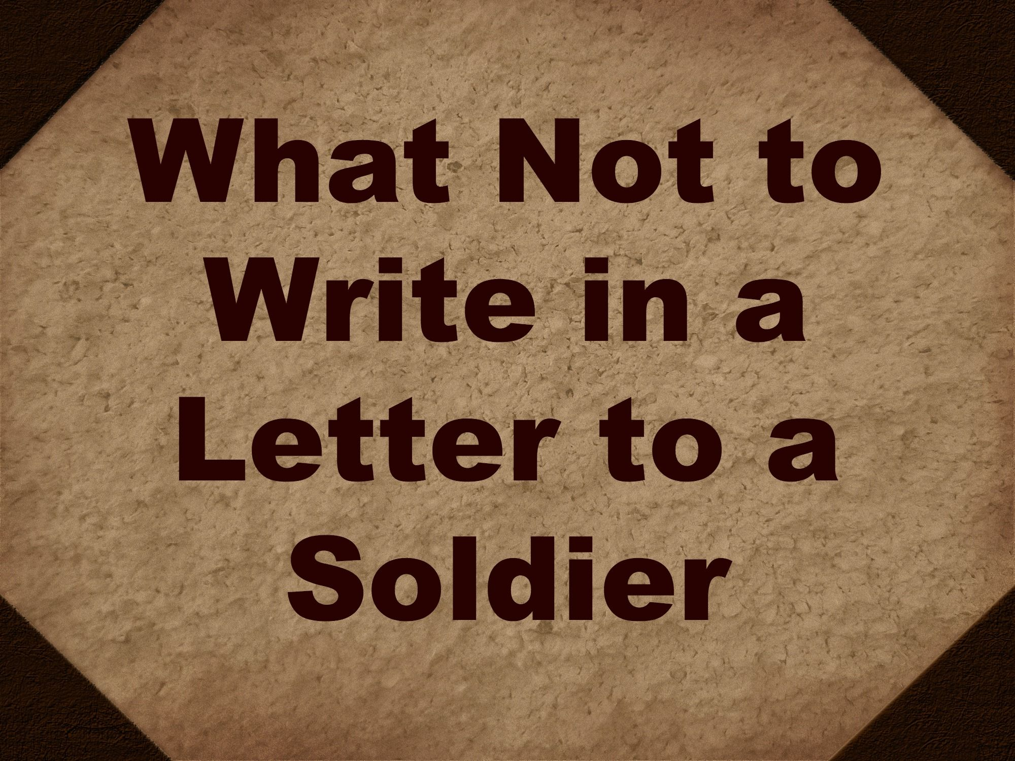 Writing Letters to Deployed Sol rs What Not to Write