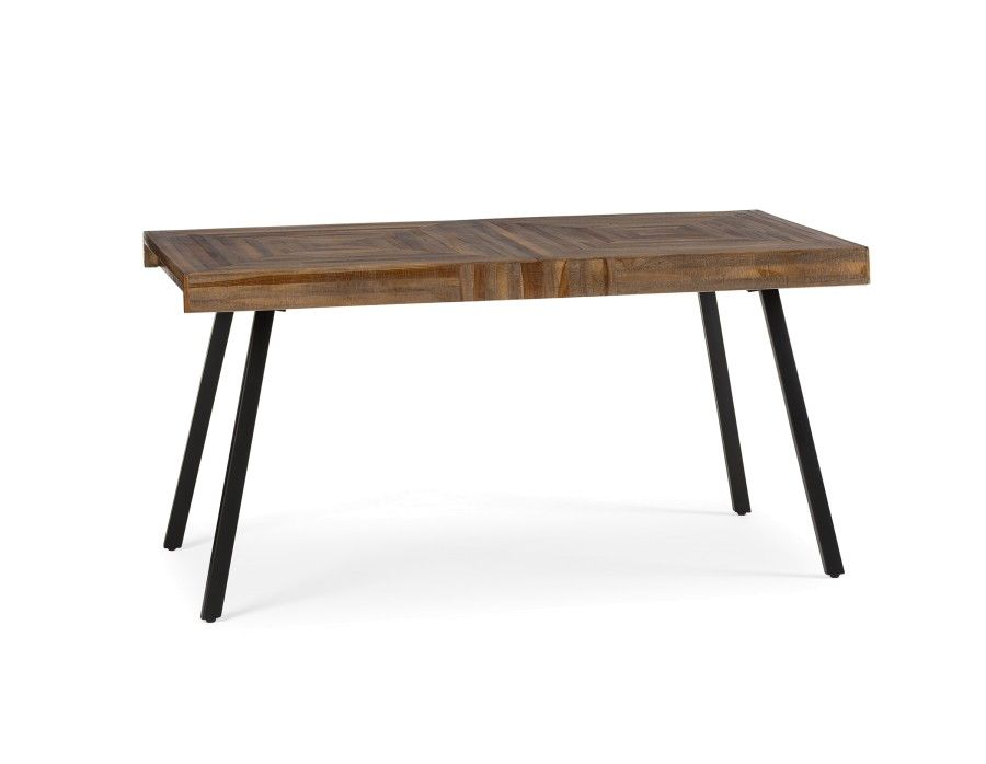 zak recycled teak dining table