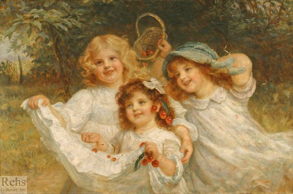 Frederick Morgan (1847 - 1927, English)   Quadro neonato ...