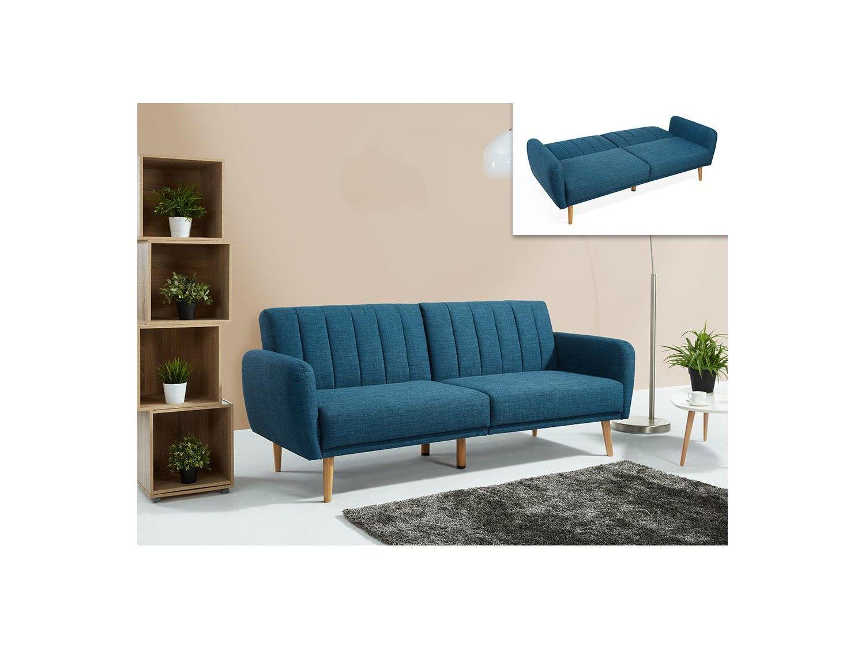 Sofa blau latest barret sofa in blau von flexform with - Rolf benz decke ...