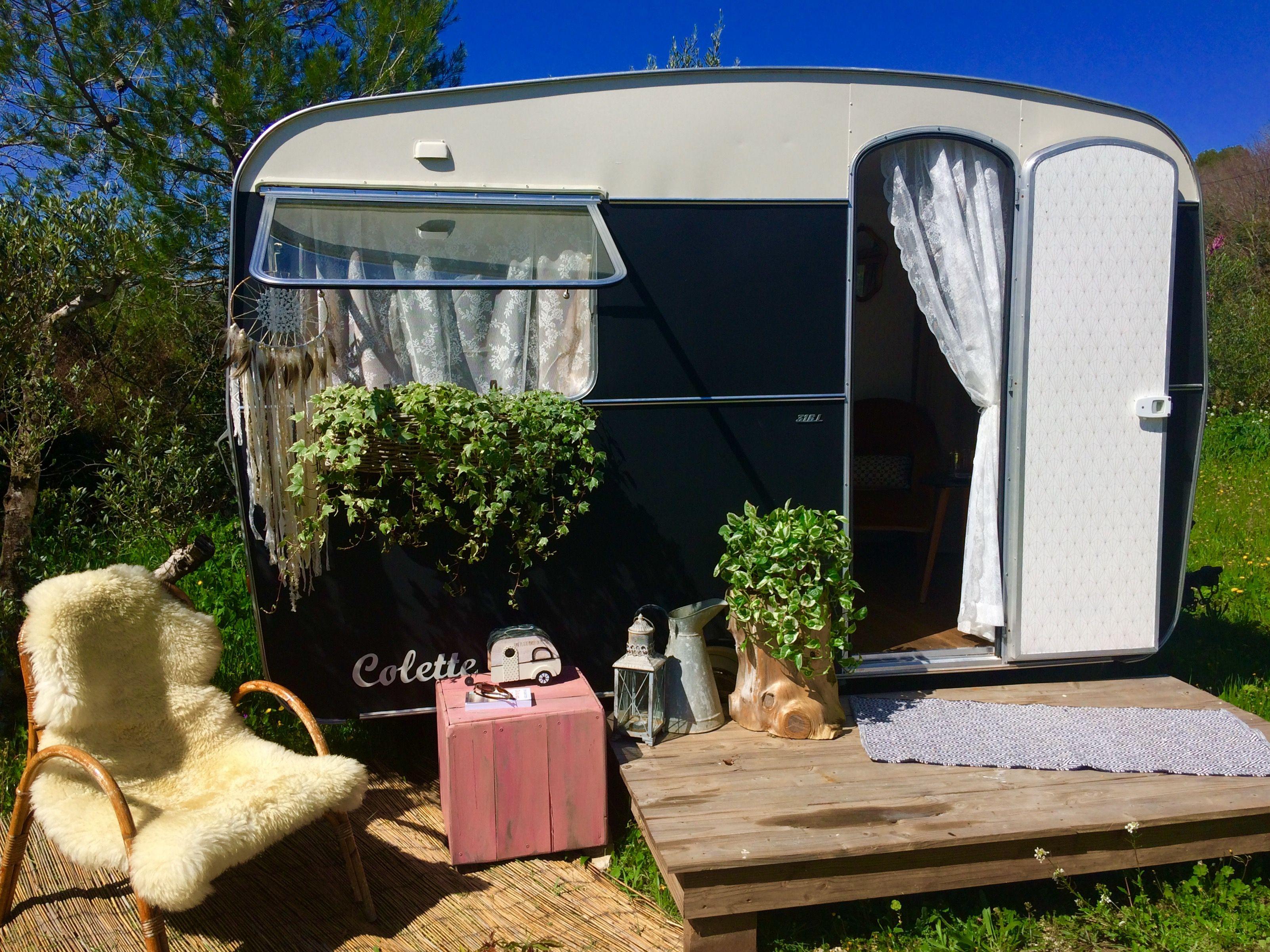 Resultat De Recherche D Images Pour Jardin Caravane Vintage