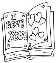 Kleurplaten I Love You.I Love You Kleurplaten Oma