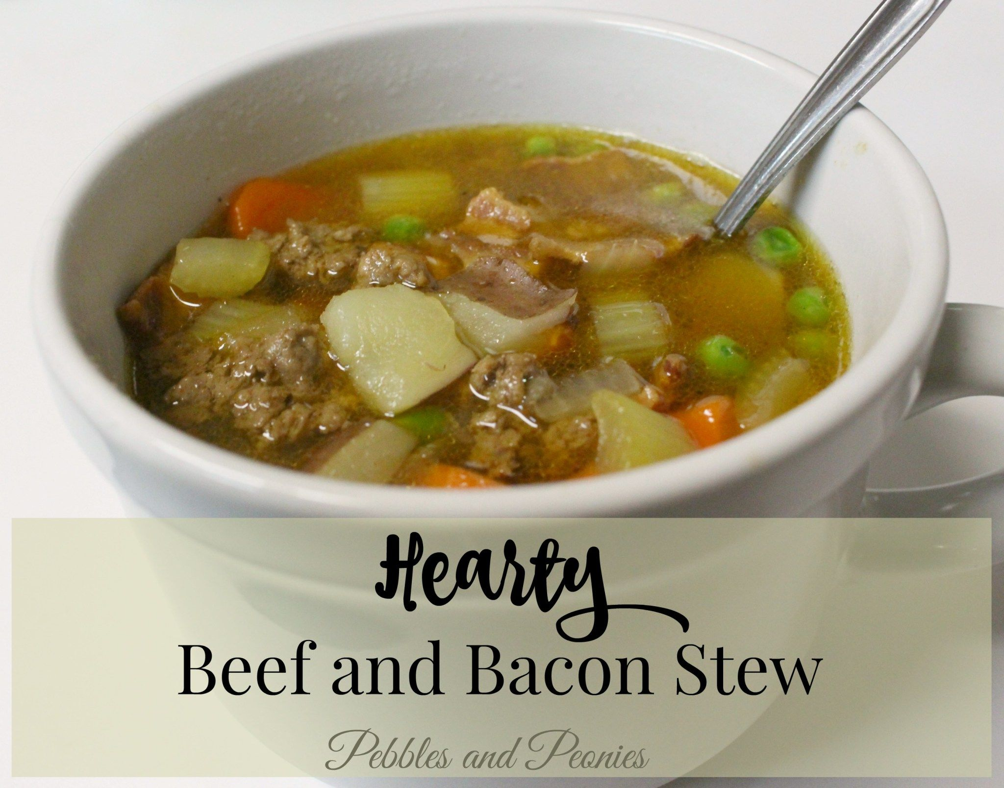 Hearty Beef and Bacon Stew