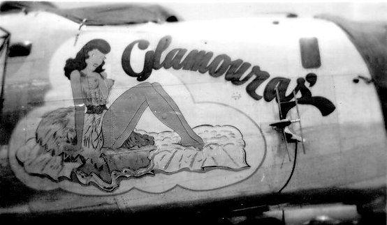 Glamouras (B-24 Nose Art)