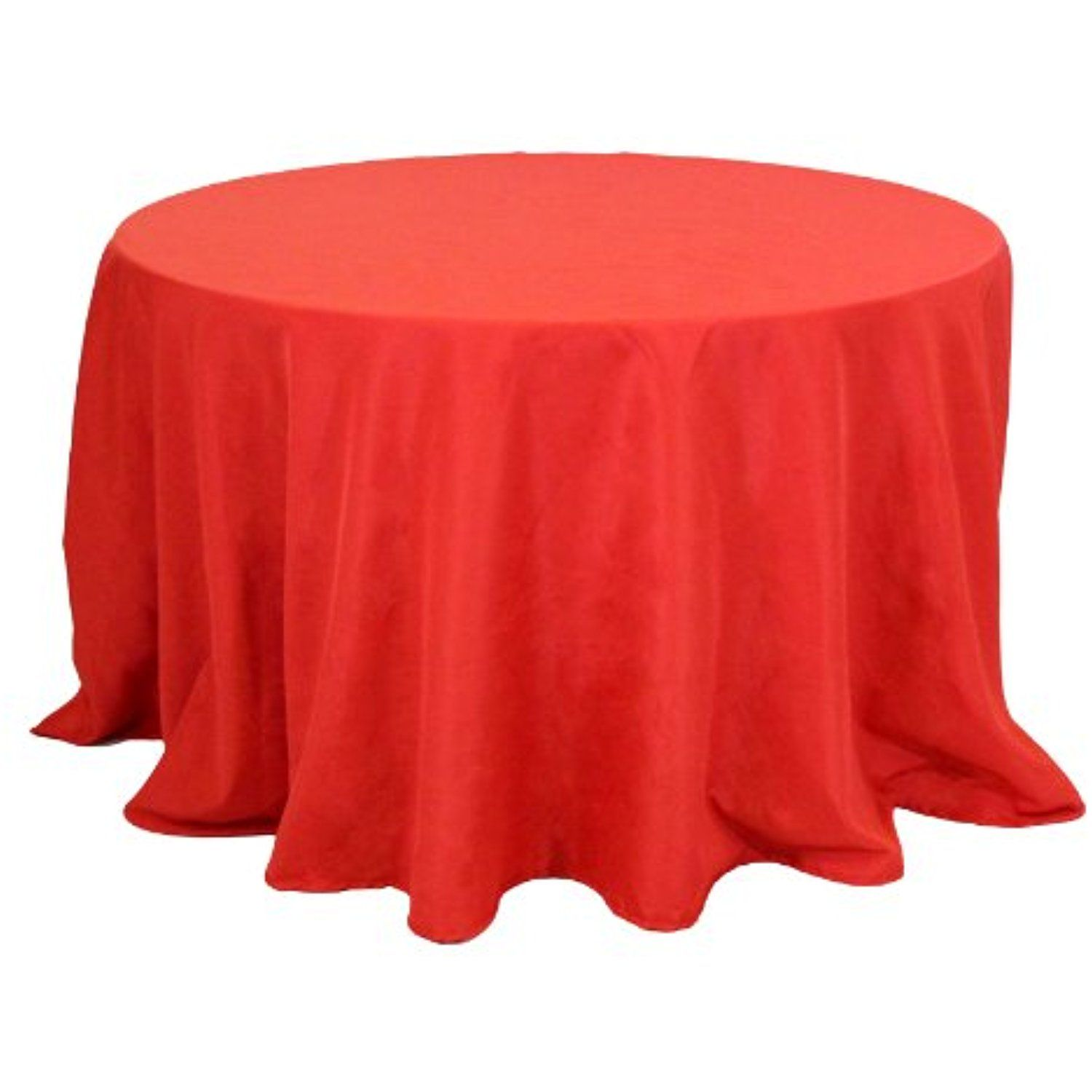 Koyal Wholesale Round Polyester Tablecloth 120 Inch Red Want To Know More Click On The Image This Is An Wedding Table Linens Table Cloth Table Linens