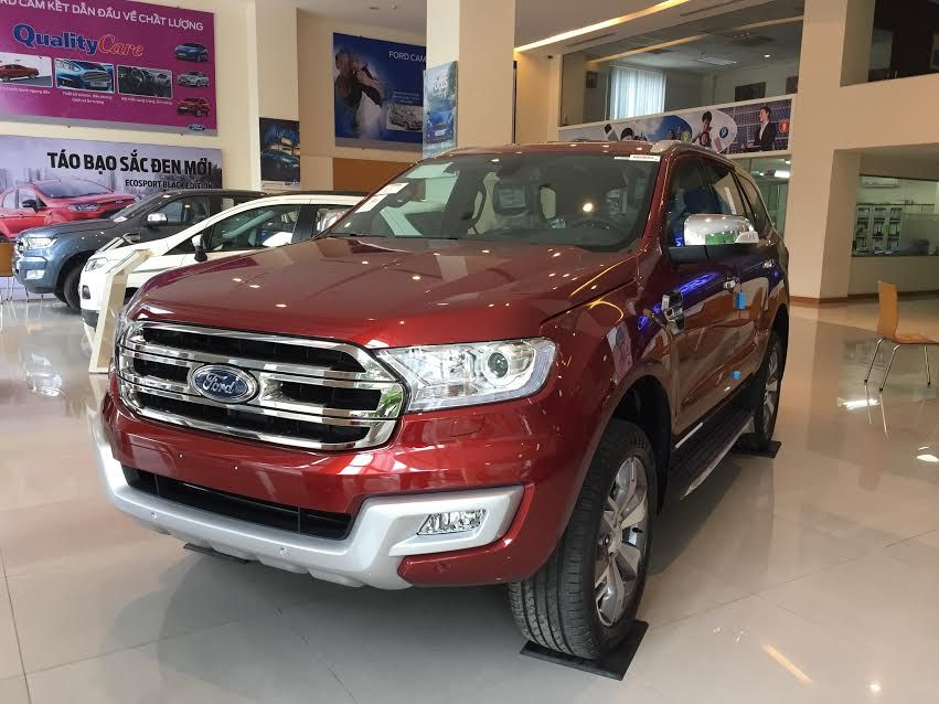Ford Everest Mới 2018 - Giá Bán Xe Everest Tốt Nhất Hà Nội
